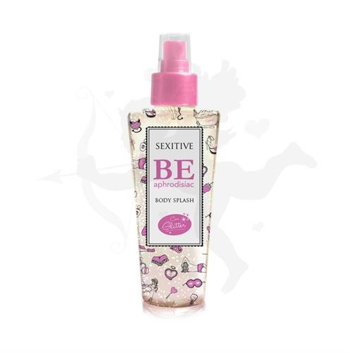 Body splash con feromonas y glitter de 130 ml
